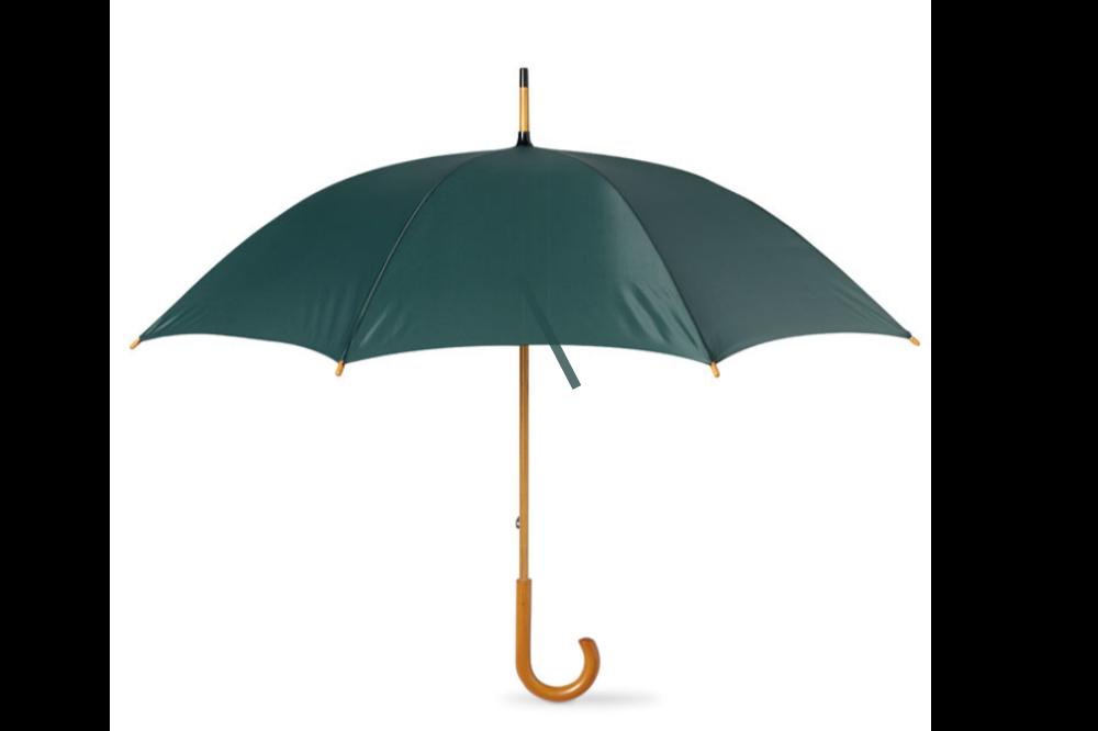 Parapluie canne personnalisé 104 cm poignée en bois - Lola