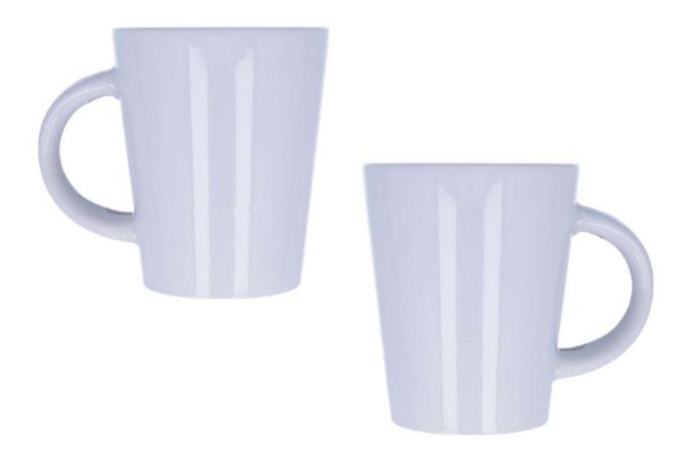 Mug personnalisé blanc avec cuillère 340 ml - Joaquín - Zaprinta Belgique