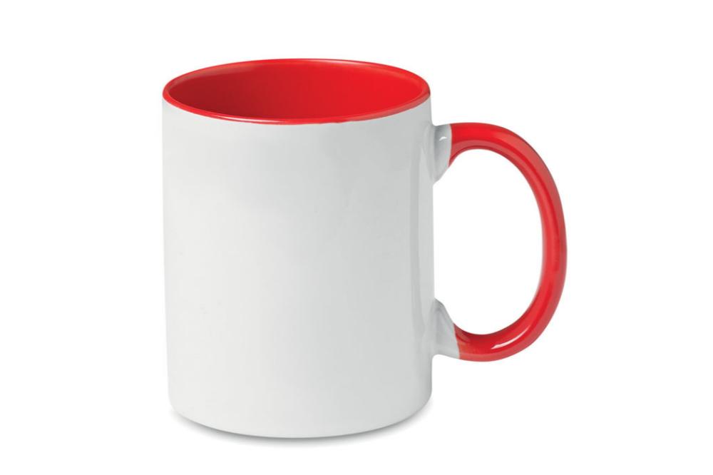 Mug personnalisé bicolore 300 ml - Sara - Zaprinta France