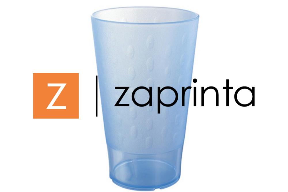 Gobelet plastique réutilisable personnalisé 33cl en couleur - Memphis - Zaprinta France