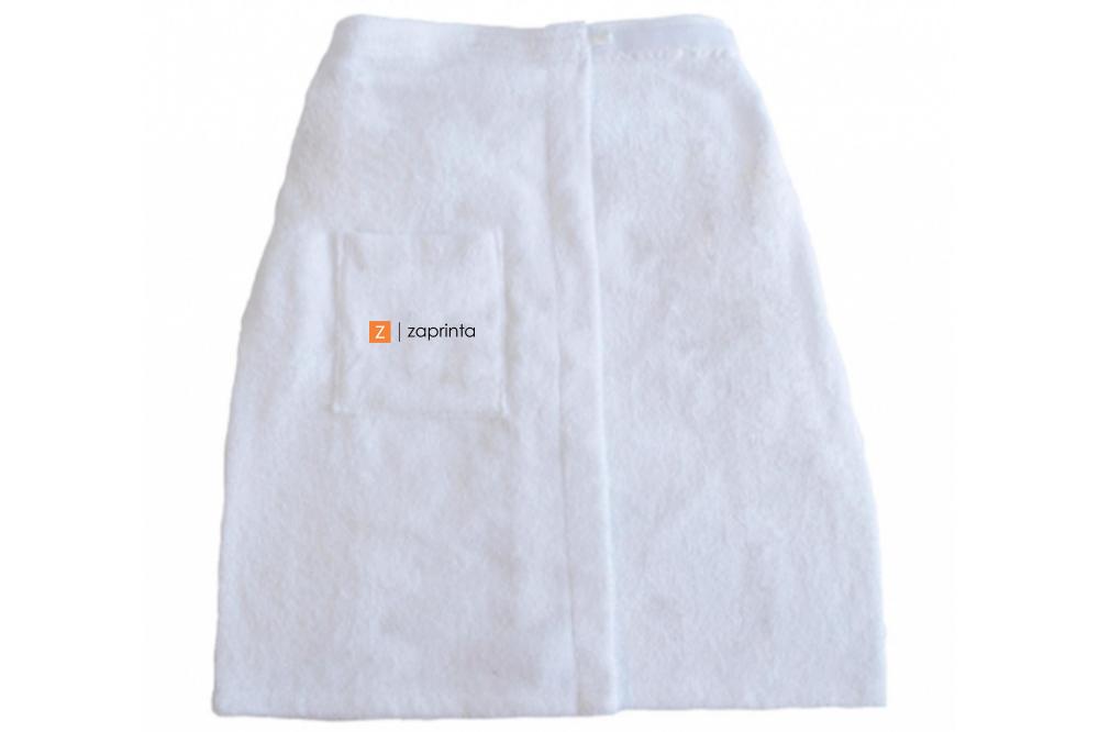 Serviette de sauna personnalisée 100% coton 420 g/m² - Straton - Zaprinta France